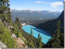 Lake Louise from Big Beehive